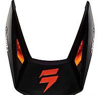 Козырек для мото шлема SHIFT WHIT3 HELMET VISOR [MT BLACK]
