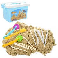 Песок для творчества PS-24 (6шт) 4000г, инструменты, в чемодане, 28-17,5-20см