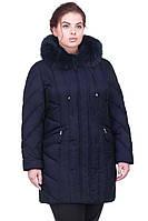 Красивая зимняя куртка с натуральным мехом  от производителя в расцветках