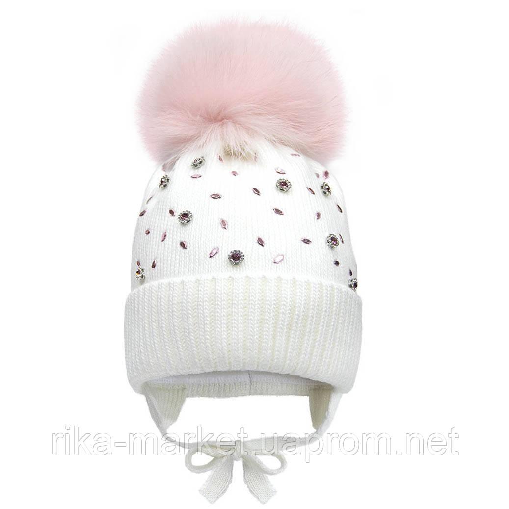 Зимняя шапка для девочки, Davidstar.2071, от 2 до 6 лет