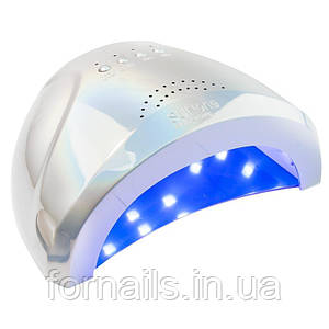 UV/LED лампа SUN One Holographic на 48 Вт, Silver