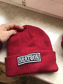 Красная гетто Swag шапка высокая Oldchool Branson