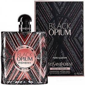 Женская парфюмированная вода Yves Saint Laurent Black Opium Pure Illusion