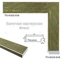 Рамки зеленого цвета для фото, вышивки, картин