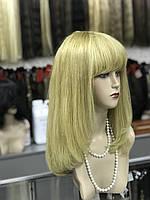 Парик из натуральных волос с челкой, фото 1