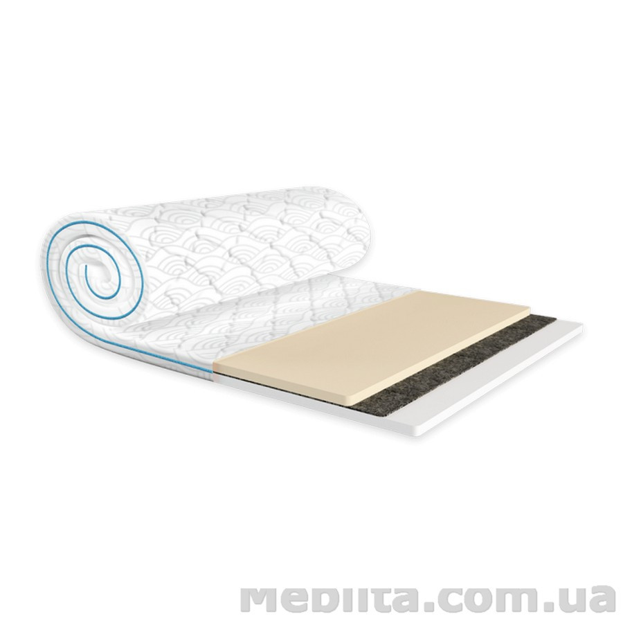 Мини-матрас Sleep&Fly mini MEMO 2в1 FLEX жаккард 80х200 ЕММ