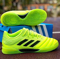 Футзалки adidas copa indoor green 19.3, фото 1