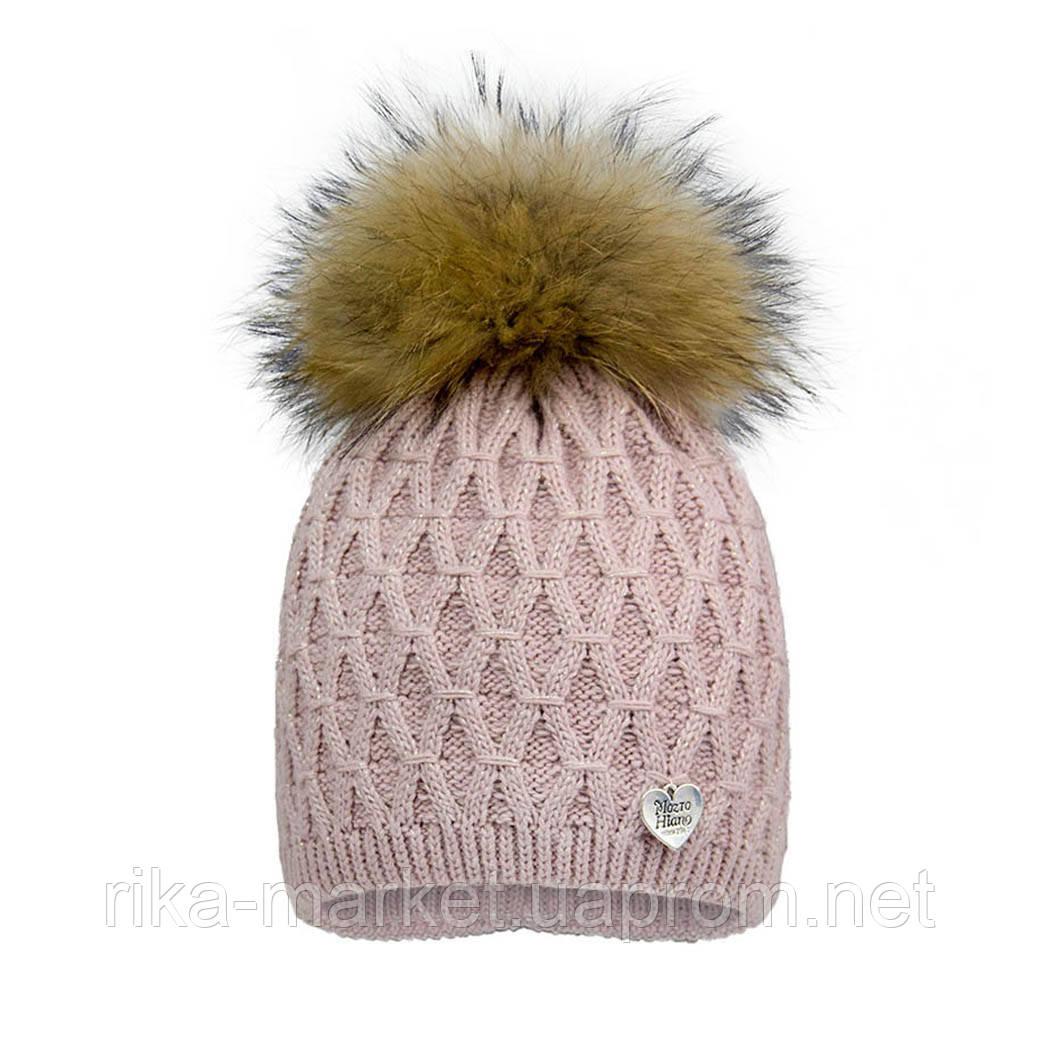 Зимняя шапка для девочки, David's Star.2068, от 7 до 13 лет