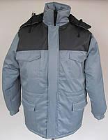Куртка утепленная «Специалист» (св.серый с тем.серым), фото 1