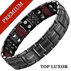 Магнитный браслет Премиум Топ Люксор (black)