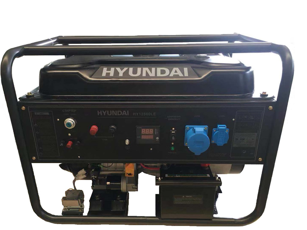 Генератор бензиновый Hyundai HY 12500LE