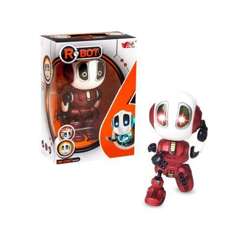 Металлический индуктивный робот, красный MY66-Q1202