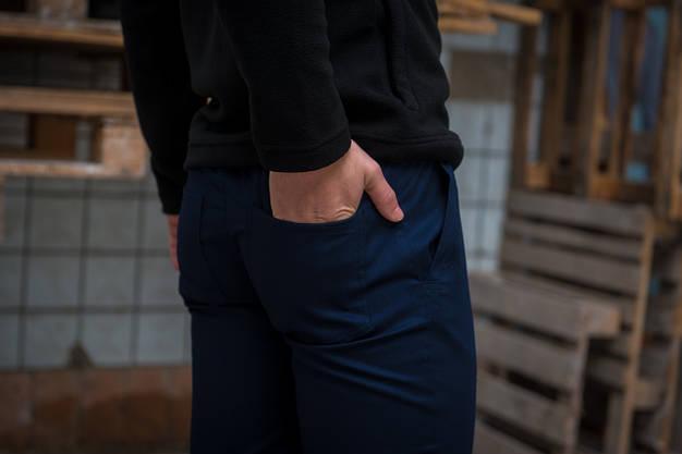 Штаны карго синие от Intruder, фото 3