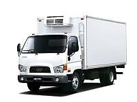 Изотермический фургон для перевозки полутуш Hyundai HD 78