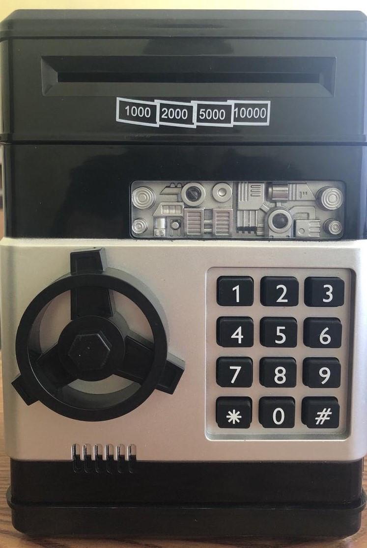 Электронная копилка EL510 сейф с кодовым замком