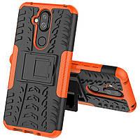 Чехол Armor Case для Nokia 7.1 Plus / Nokia 8.1 (X7) Оранжевый