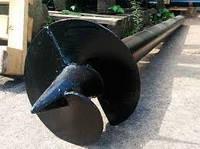 Паля гвинтова одновитковая Ø57 мм. 4500 мм, фото 1