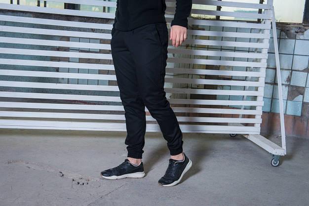 Штаны карго черные от Intruder, фото 2