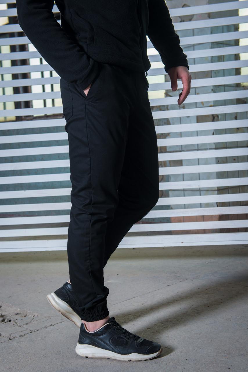 Штаны карго черные от Intruder