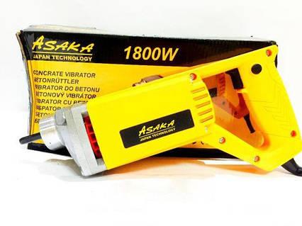 Вибратор для бетона Asaka ASID-215 1800Вт + булава 1,5м