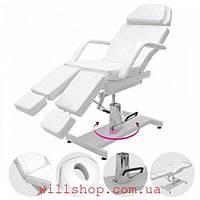 Кресло гидравлическое для педикюра модель 235 Цвет white