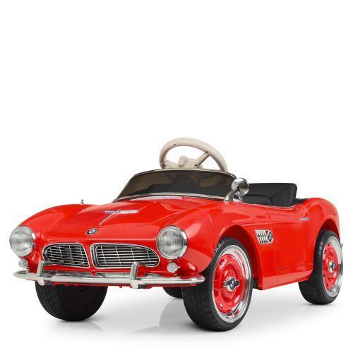 Электромобиль детский M 4169EBLR-3 ретро красный