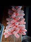 Елка искусственная розовая с искусственным снегом, фото 2