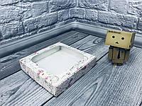 *10 шт* / Коробка для пряников / 150х150х30 мм / печать-КристальноеСердце/ окно-обычн / лк, фото 1
