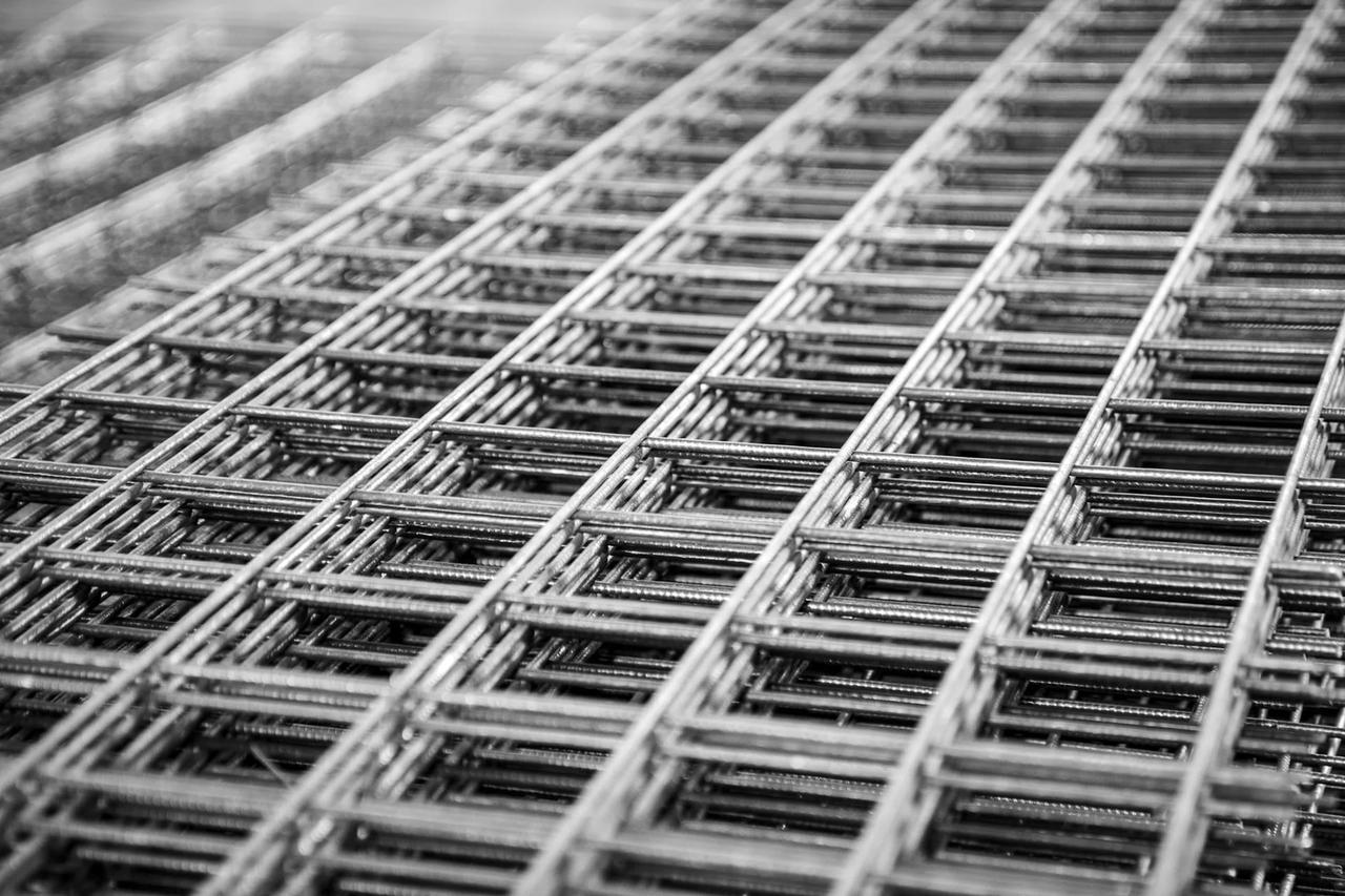 Сетка сварная оцинкованная 25x25x1,8мм (Ширина 1м)