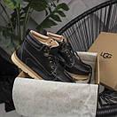 Мужские ботинки из натурального замша, фото 5