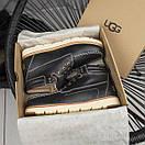 Мужские ботинки из натурального замша, фото 6