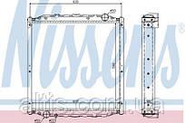 Радіатор охолодження MAN L2000 (93-) 85061016010 (без рамки)