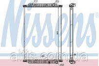 Радиатор охлаждения (без рамки) RVI KERAX (05-) 7485013126
