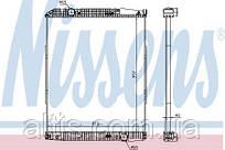Радиатор охлаждения двигателя ACTROS MB (96-) 9425001103  (без рамки)