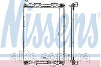 Радиатор охлаждения двигателя MAN F2000 19.343/403/463 95- (без рамки)