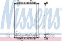 Радиатор охлаждения двигателя RVI PREMIUM DXI 00- (без рамки) 5001856788