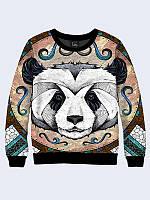 Свитшот женский Панда рисунок