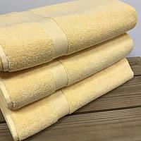 Полотенце махровое Ladella 60х90 для ног желтое
