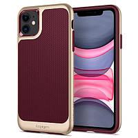 Чохол Spigen для iPhone 11 Neo Hybrid, Burgundy (076CS27196)