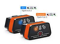Автосканер Vgate iCar2 ELM327 V2.1 obd2