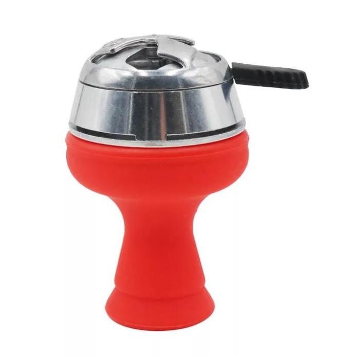 Комплект чаша силиконовая Phunnel+калауд красный