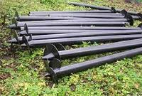 Свая винтовая одновитковая Ø102 мм.1500 мм., фото 1