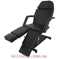 Кресло гидравлическое для педикюра модель 235 Цвет черный
