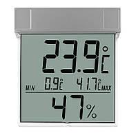 Термометр-гигрометр цифровой оконный TFA Vision 305020 silver