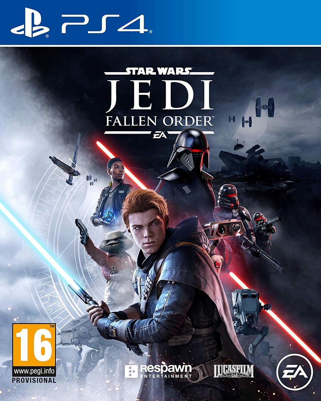 Зоряні Війни Джедаї: Павший Орден. Star Wars Jedi: Fallen Order (PS4, російська версія)