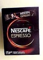 Кава Nescafe Espresso 25 стіків, фото 1
