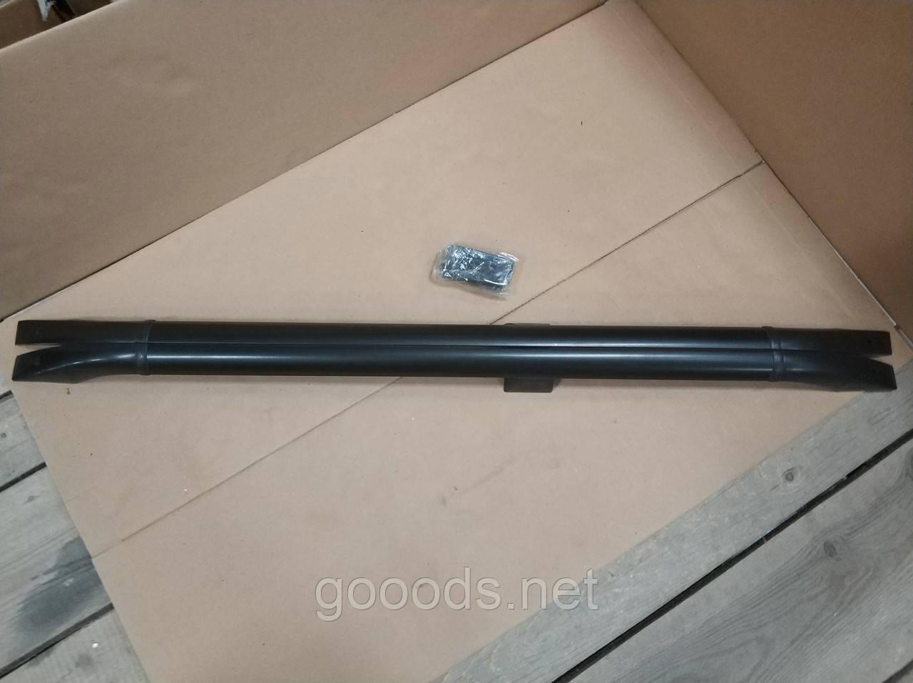 Багажник на дах Фіат Добло (00-10), чорний