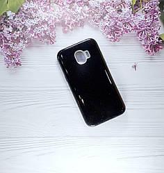 Чехол накладка Glitter на Samsung J2 pro(2018), J250 Black