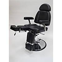 Кресло-кушетка для педикюра CH-227B Цвет: чёрный.