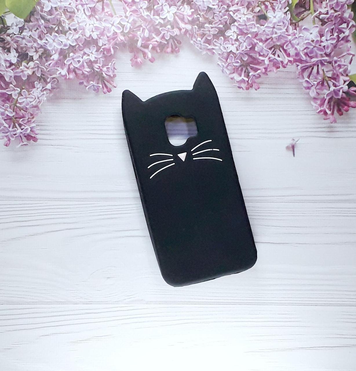 Чехол Cat для Samsung J2 (2018), J250, Black